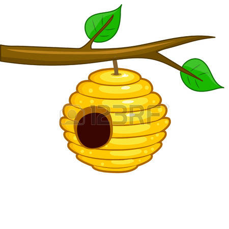 Bee hive clipart free to use clip art resource art