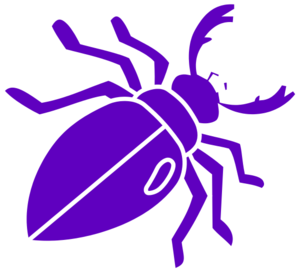 Purple Beetle Clip Art - BeeBeetle Clipart