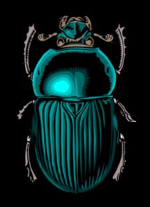 Scarab Beetle Clip Art