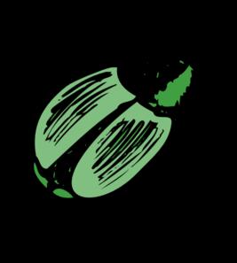 Shiny Green Beetle Clip Art