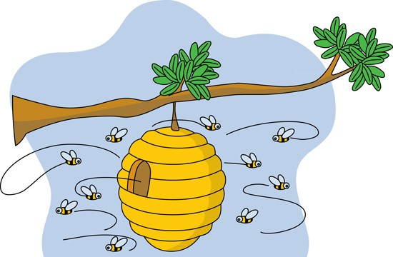 Beehive clipart cliparts and others art inspiration