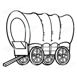 Beka Book Clip Art Covered Wagon