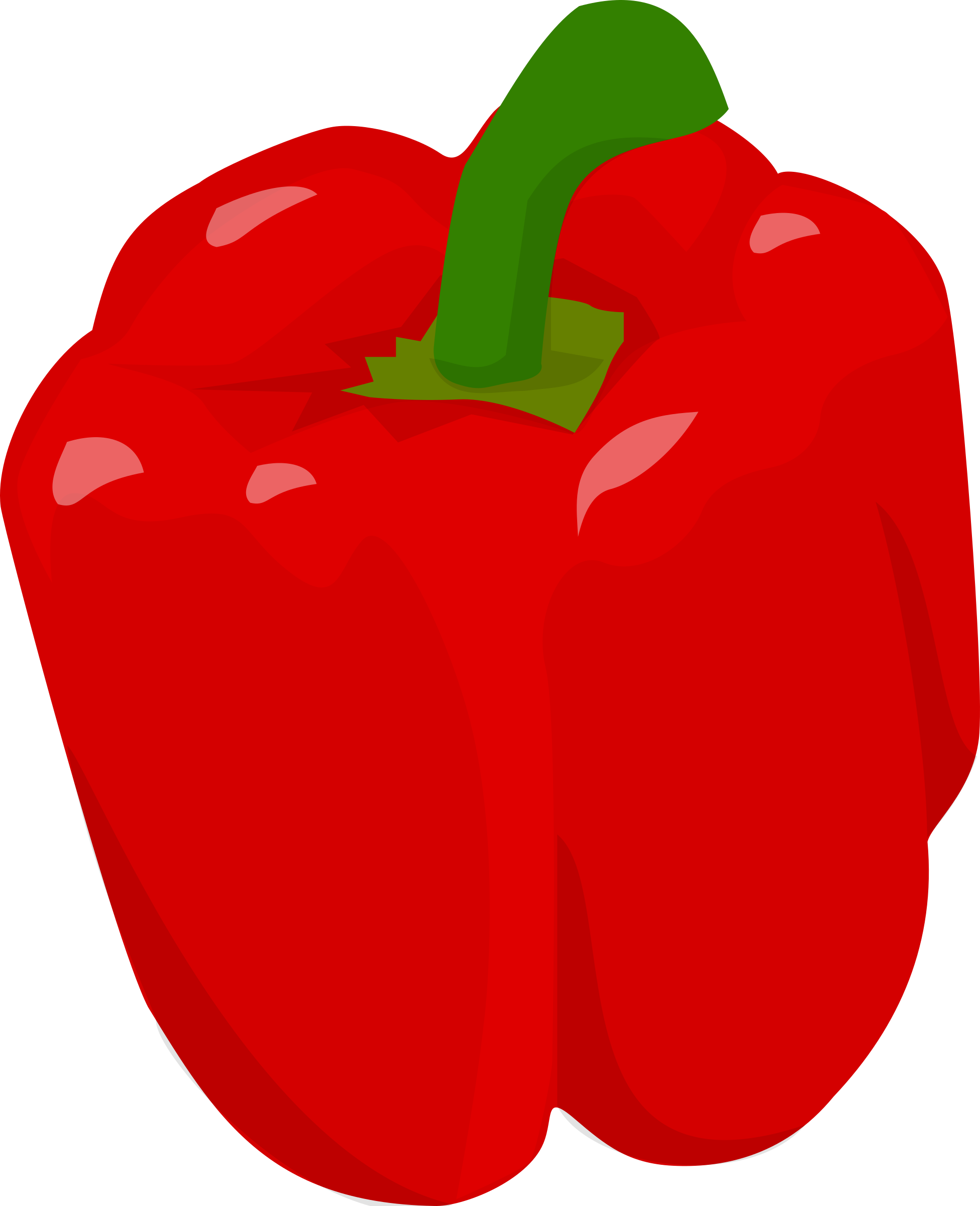 Bell Pepper By Doctormo