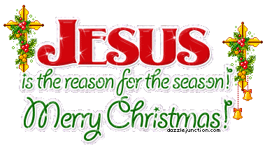 Bells With Jesus Is The Reason For The Season Merry Christmas Picture