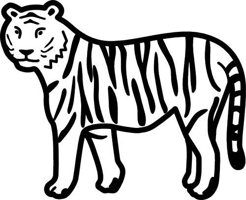Bengal Tiger Clip Art