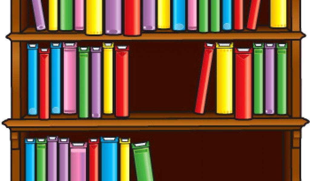 Best Bookshelf Clipart