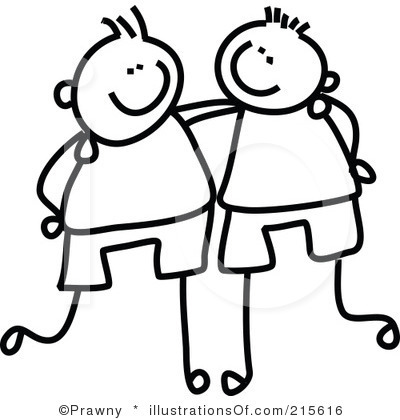 Best Friends Clipart Preview Cli Two Boys Jpg Guy Best Friends Clipart