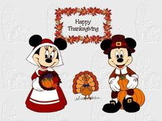 Best Mickey Mouse Thanksgiving Clipart #22524 - Clipartion clipartall.com