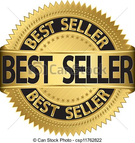Best Seller Golden Label, Vector Il