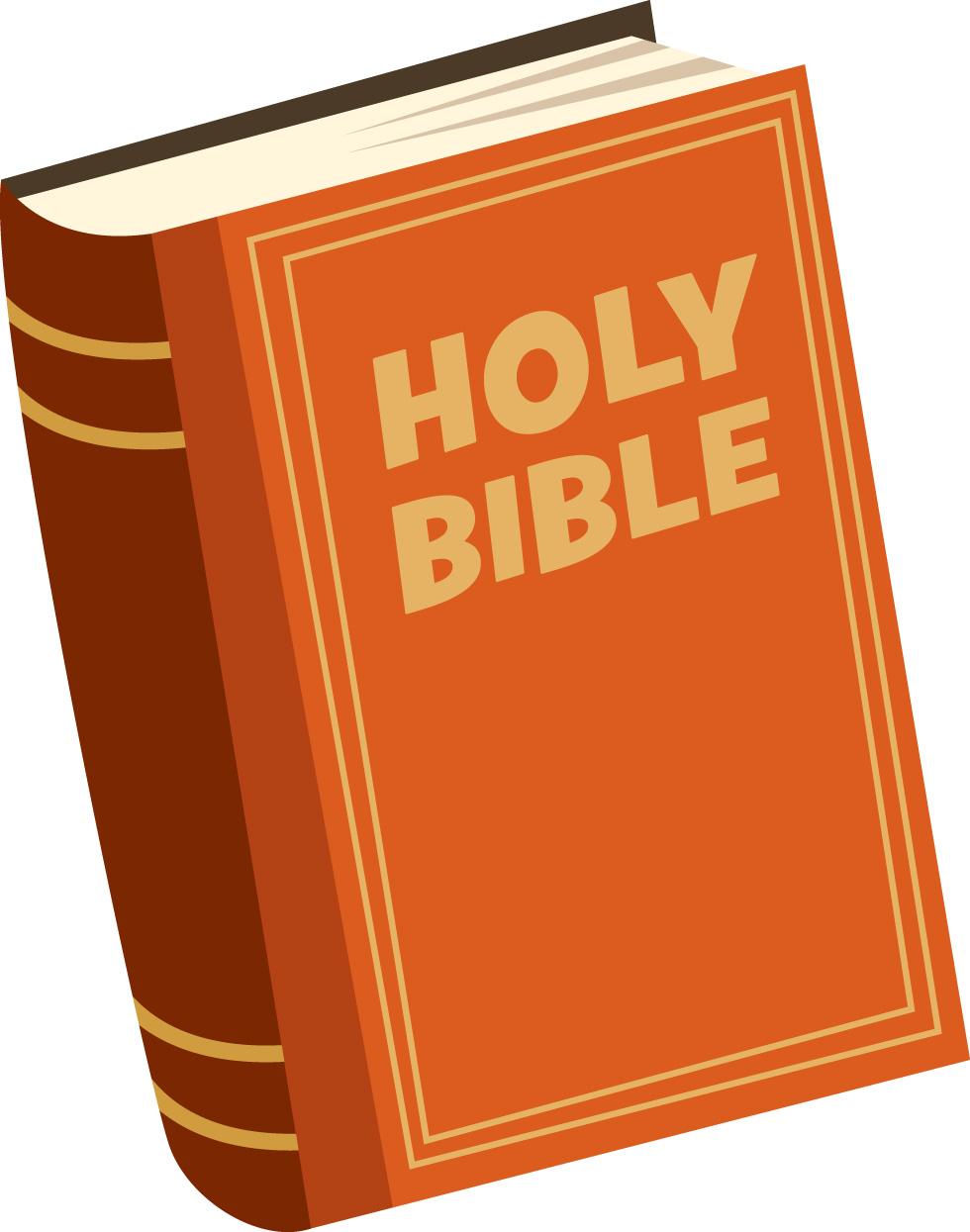 Bible clip art vector bible .