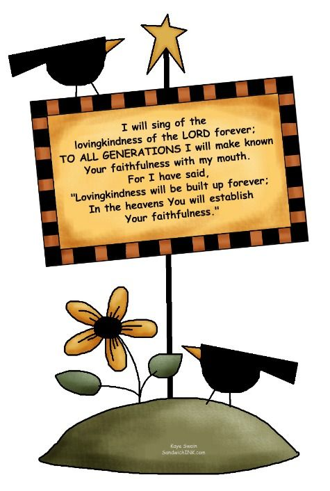 Bible Verse Clip Art | Encouragement for The Sandwich Generation Storms of  Life u2013 From .