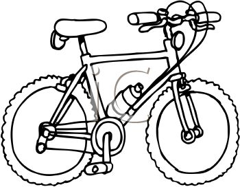 Bicycle clip art black and white on dayasrionl bid