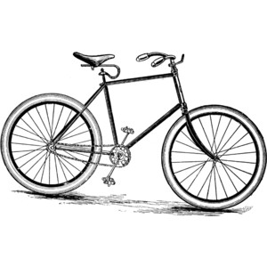 Bicycle Clipart Black And ..