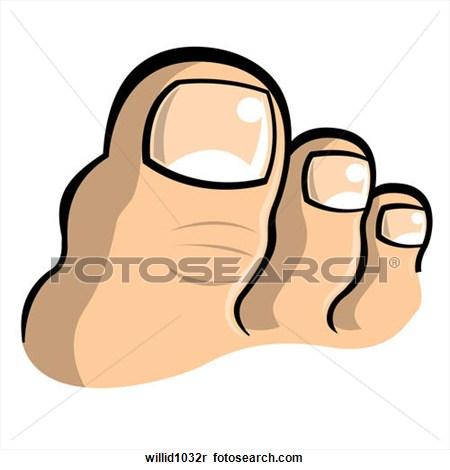 Big Toe Clipart