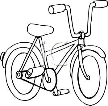 Bike Clipart Black And White 2015