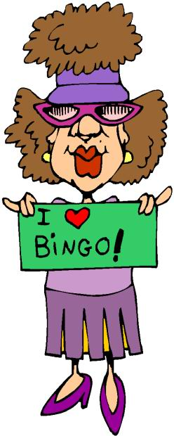 Bingo Border Clipart - Bingo Clipart