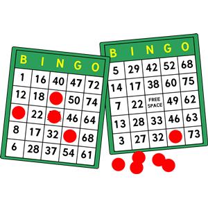 Bingo Clipart #32271 - Bingo Clipart