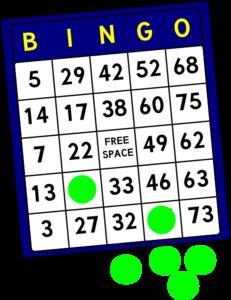 Bingo clipart free clipart 2