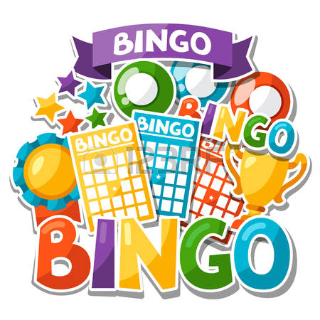 Bingo Or Lottery Game Background With Balls And Cards. Royalty Free  Cliparts, Vectors, And Stock Illustration. Image 48491138.