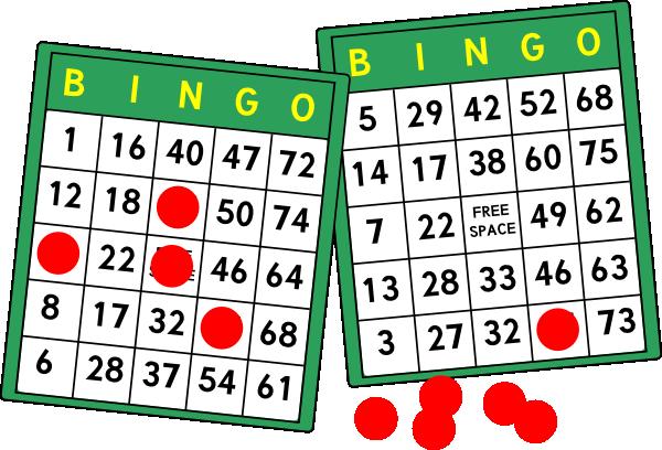 Bingo clipart free clipart