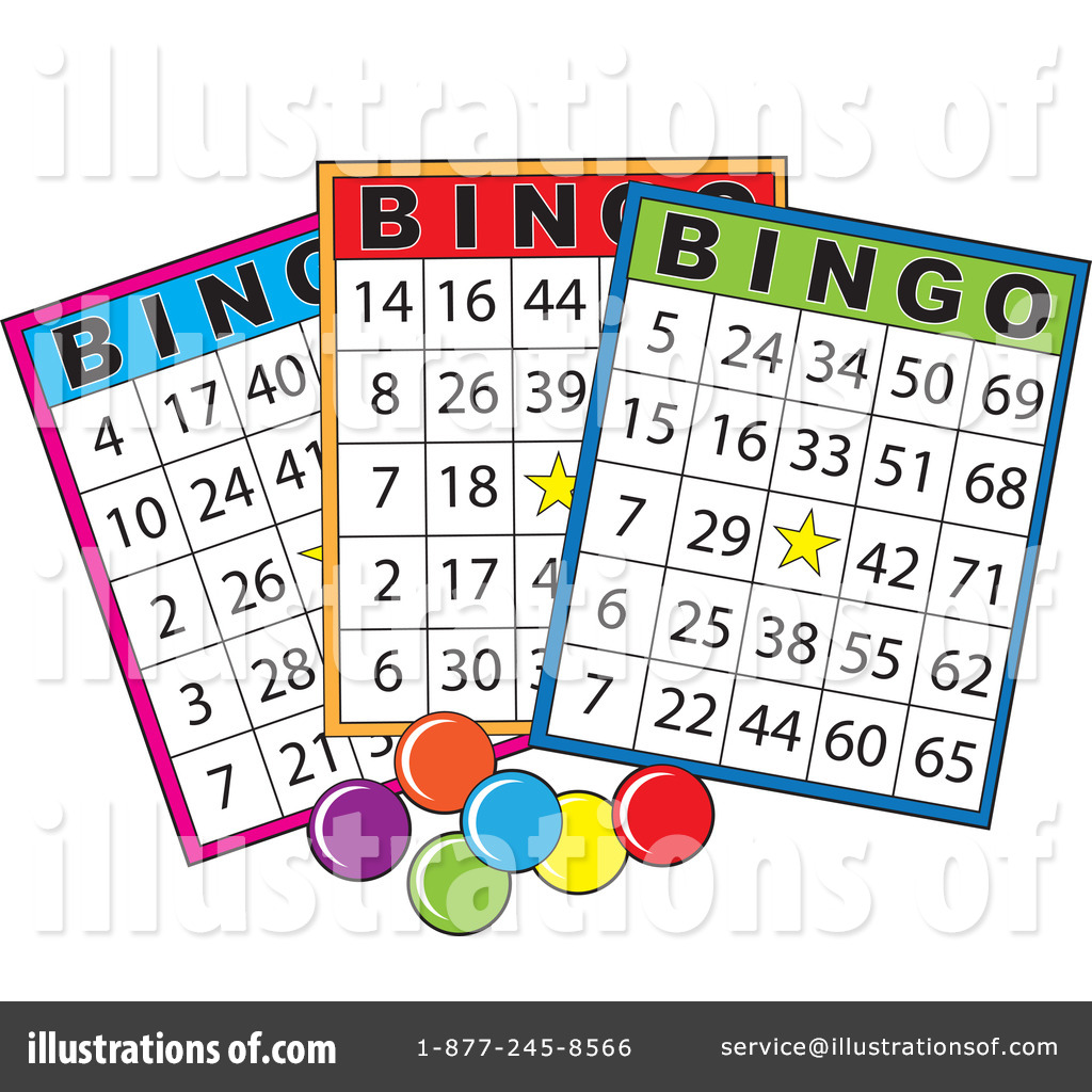 Royalty-Free (RF) Bingo Clipart Illustration #1091673 by Maria Bell