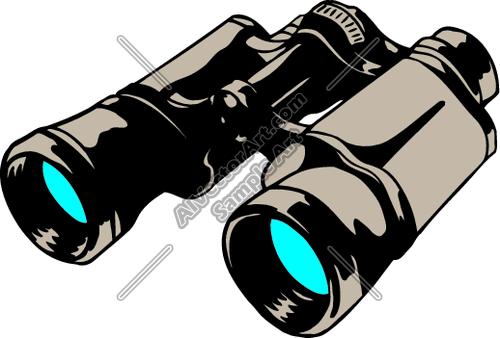 Binoculars Clipart And Vectorart Misc Graphics Misc Vectorart And