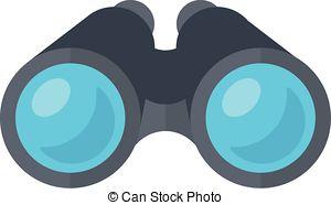 Binoculars Stock Illustrationby cteconsulting1/189; Binoculars spy glasses. - Isolated icon pictogram. Eps 10.
