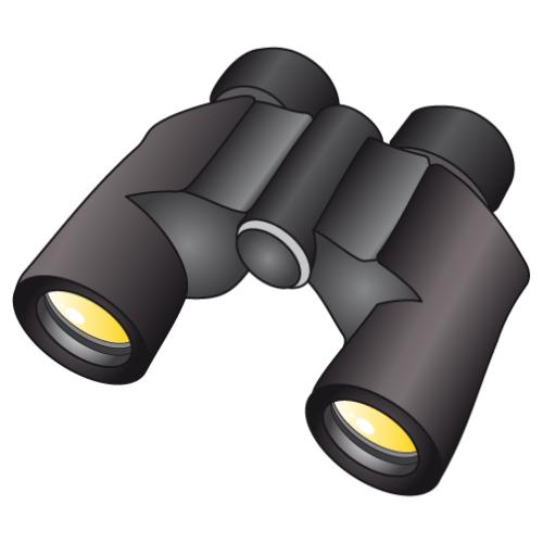 Binoculars Vector And ..