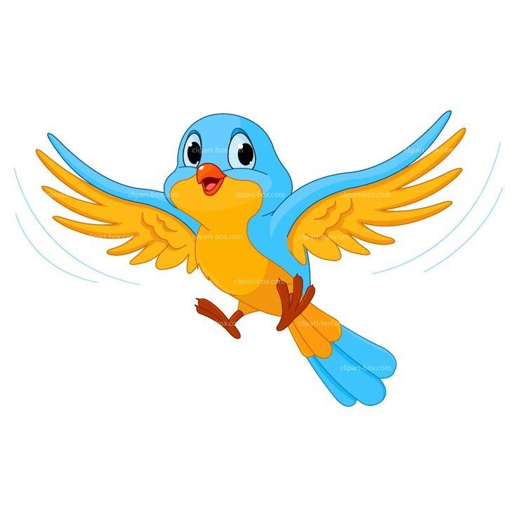 Bird clipart clipart bird cartoon free vector design