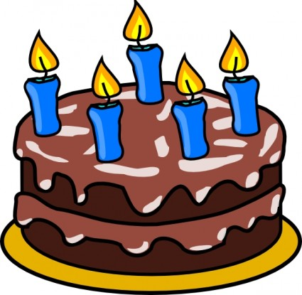 Birthday Cake Clip Art - Birthday Clip Art