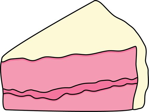 birthday cake slice clip art