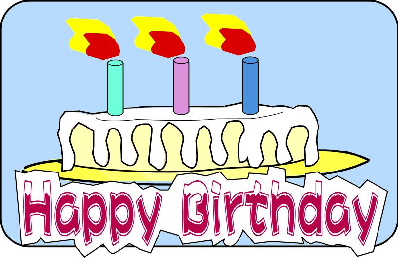 Birthday Animated Clipart .