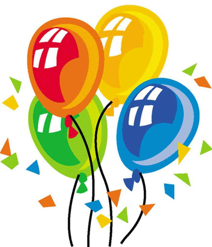 Birthday Balloons Clip Art ..