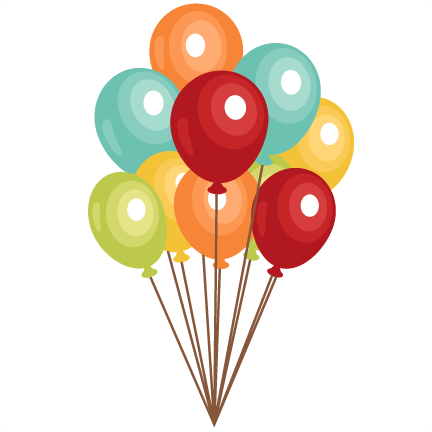 Birthday balloons clip art clipart photo