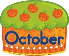 Birthday Cake - October
