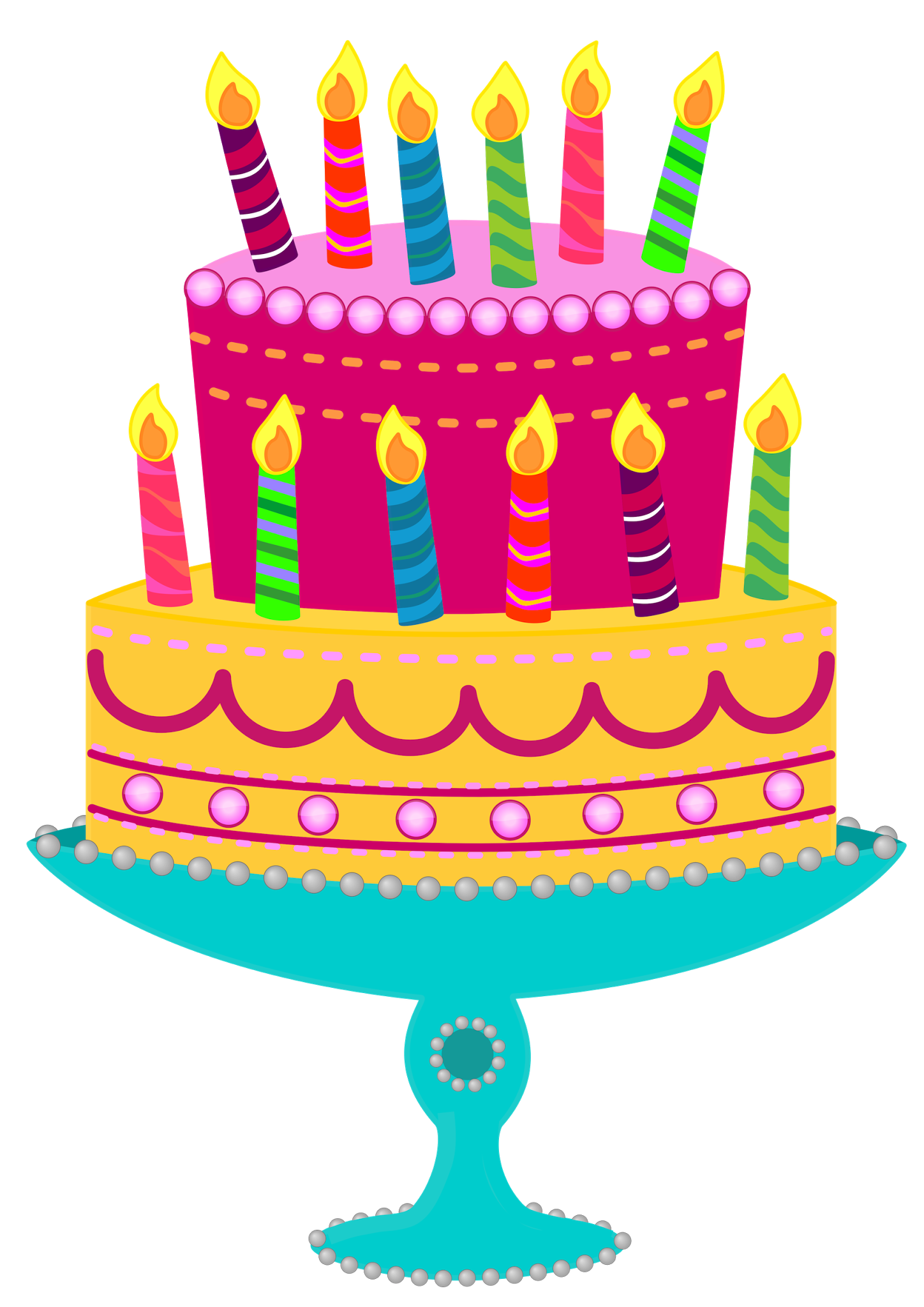Birthday clip art photo for