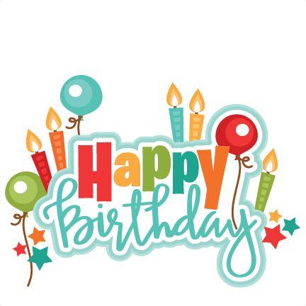 Best 25  Birthday clipart ide - Birthday Clipart