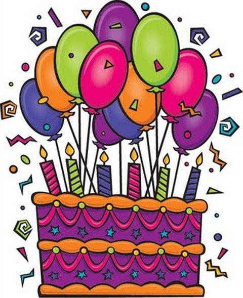 Birthday Art Clip Free Birthd - Birthday Clipart