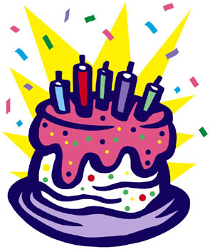 Birthday cake art cake birthday clipart 4 cakes