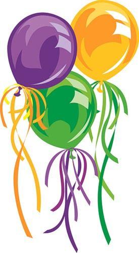 Birthday Clipart, Birthday Cards, Happy Birthday, Birthday Greetings, Balloon, Carnival, Childrens Party, Masquerade Party, Birthdays. Carnival ~ Mardi Gras