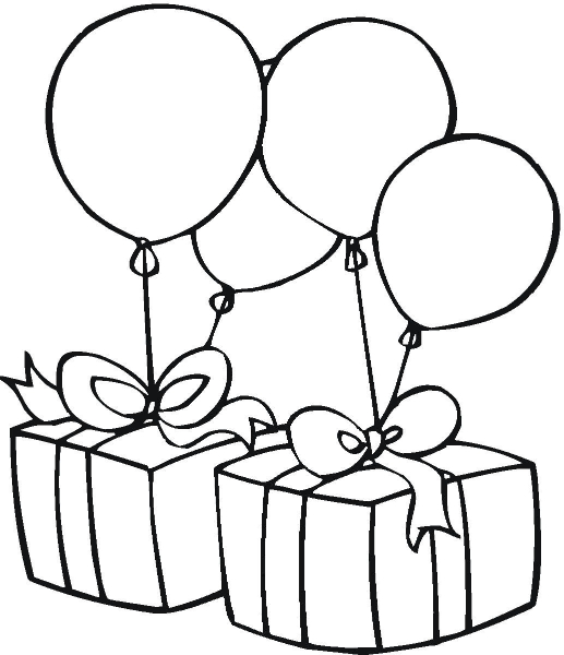 Birthday Clip Art Black And White With Quotes | Cake For Happy