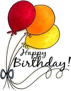 Fancy Happy Birthday Clipart  - Birthday Clipart