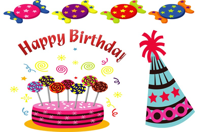 Free birthday funny happy bir - Birthday Clipart