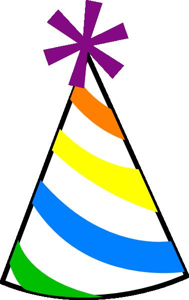 Birthday Hat Clip Art At Vect - Birthday Hat Clipart