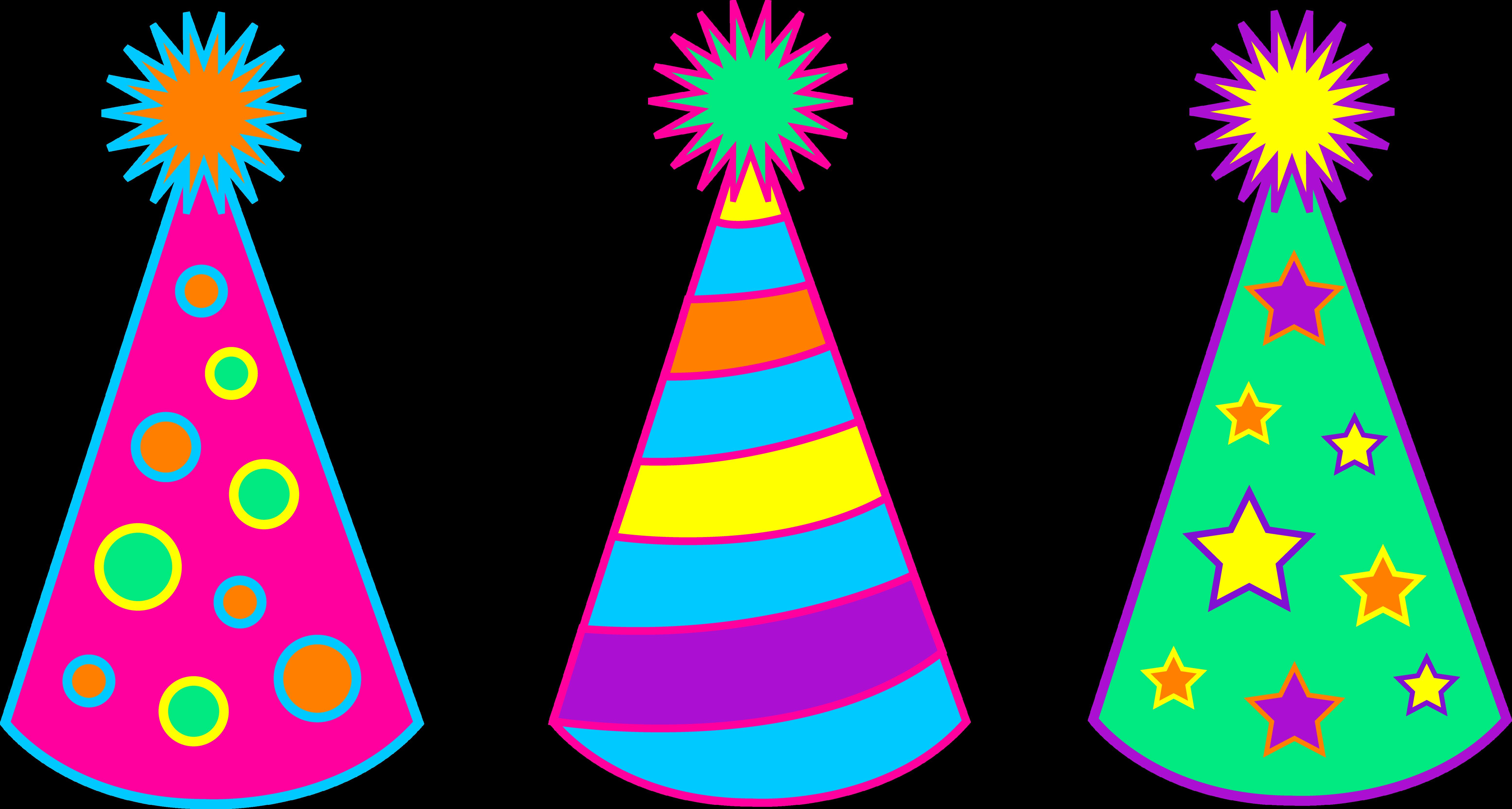 Birthday Hat Clip Art - clipa - Birthday Hat Clipart