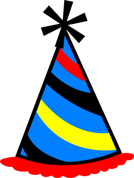 Birthday Cap Clip Art