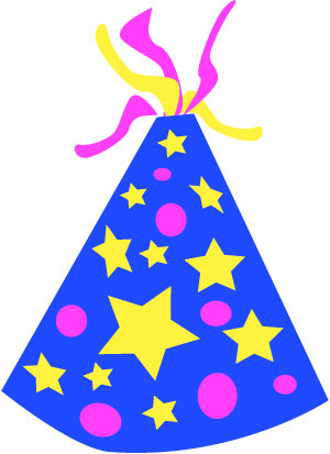 Birthday hat transparent background free clipart 3