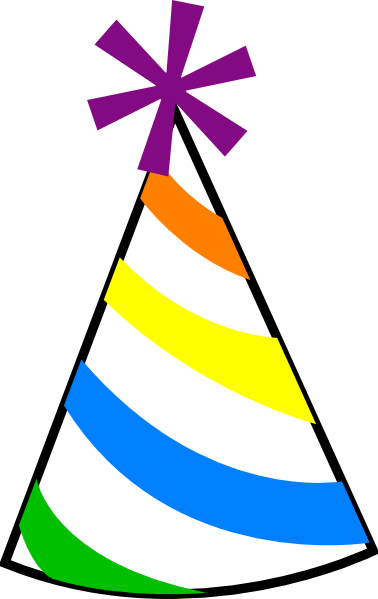 Birthday Hat Clipart this image as: