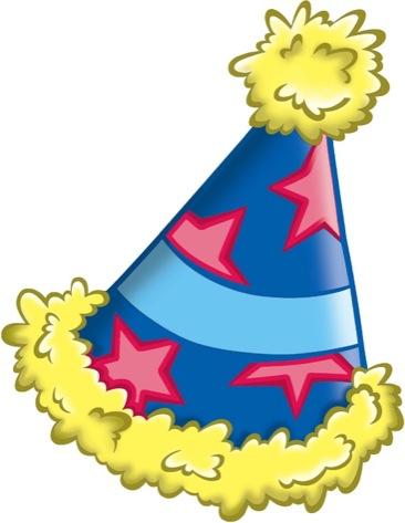 Free birthday hat clipart image 7 hats off