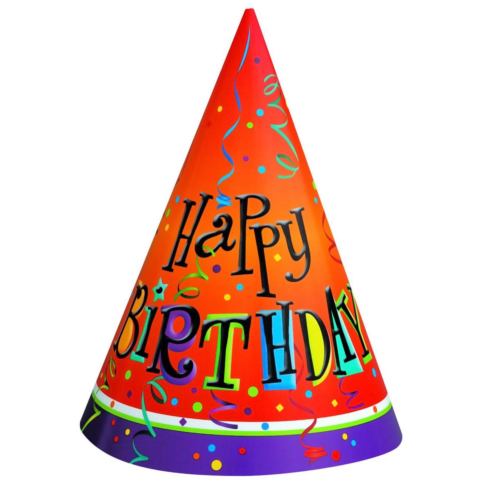 Birthday Hat Clipart No Backg - Birthday Hat Clipart